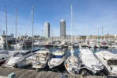 Olympic Harbour, Barcelona, Spain Royalty Free Stock Images