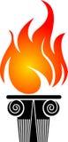 Olympic logo. Illustration art of a olympic logo with isolated background Stock Image