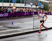 Olympic Marathon Stock Photo