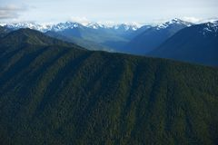 Olympic Mountains Royalty Free Stock Photo
