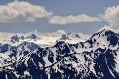 Olympic National Park Mountain Range Stock Photography