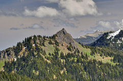 Olympic National Park Mountain Range Stock Image