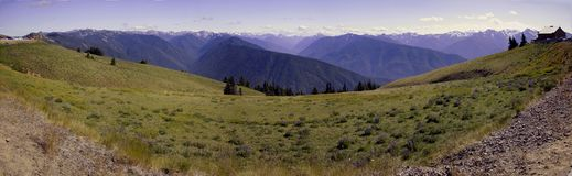 Olympic National Park, panorama Royalty Free Stock Image