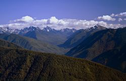 Olympic National Park, panorama Stock Photos