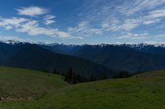 Olympic National Park, Washington State royalty free stock photography