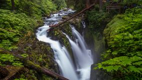Olympic national park water falls stock images