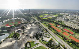 olympic park Arkivbild