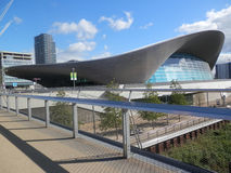 Olympic Park Aquatic Centre Royalty Free Stock Photography