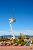Olympic park, Barcelona Royalty Free Stock Photos
