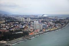 Olympic Park on the Black Sea coast Stock Photos
