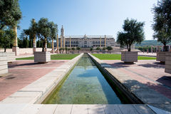 Olympic Park Montjuic in Barcelona Royalty Free Stock Photos