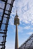 Olympic park Munich. Olympic park tower in Munich, Germany Stock Image
