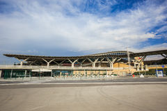 Olympic park railway station in Sochi Royalty Free Stock Photos