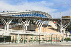 Olympic Park Railway Station In Sochi Royalty Free Stock Images