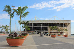 Olympic Park Rio 2016 has been transformed into a leisure area b Stock Photo