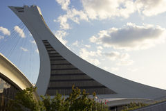 Olympic Park's Tower Observatory in Montreal Stock Images