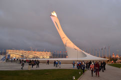 Olympic park in Sochi Stock Image