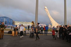Olympic park in Sochi Stock Images