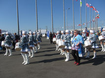 Olympic park in Sochi Stock Photography