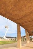 Olympic park tower designed by Santiago Calatrava. Royalty Free Stock Photos