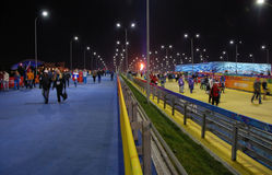 Olympic park at XXII Winter Olympic Games Sochi Royalty Free Stock Images