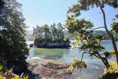 Olympic Peninsula Coast 4. The rugged coastline of the Olympic peninsula in Washington state is surrounded by the Strait of Juan de Fuca to the north and the royalty free stock photography