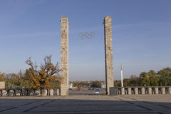 Olympic portal Stock Photography