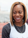 Olympic runner Sanya Richards-Rossx Stock Photo