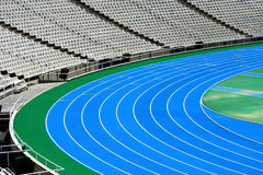 Olympic running tracks Stock Images