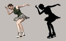 olympic skateboradåkare Royaltyfri Bild