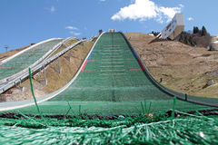 Olympic ski jump Royalty Free Stock Photography
