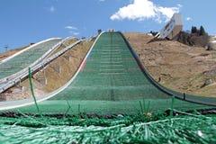 Olympic ski jump. Great Olympic ski jump at Gudiberg Royalty Free Stock Photography