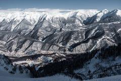 Olympic Ski resort, Krasnaya Polyana, Sochi, Russia Royalty Free Stock Photo