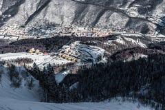 Olympic Ski resort, Krasnaya Polyana, Sochi, Russia Stock Image