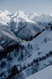 Olympic Ski resort, Krasnaya Polyana, Sochi, Russia Stock Images
