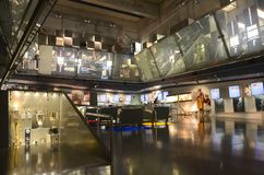 Olympic Sports Museum Barcelona Royalty Free Stock Photo