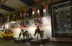 Olympic Sports Museum Barcelona Stock Images