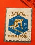 olympic stämpel Royaltyfri Foto