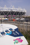 olympic stadion Royaltyfri Bild