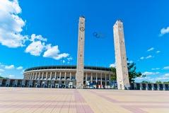 Olympic Stadium в Берлине Стоковые Изображения RF