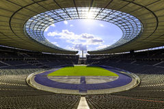 Olympic Stadium в Берлине Стоковые Изображения