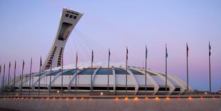 Olympic stadium Stock Photography