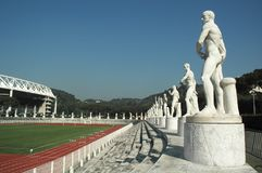 Olympic stadium. The Olympic Stadium in Rome situated within the Foro Italico royalty free stock photography