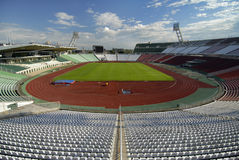 Olympic stadium. The olympic stadium in the Budapest, Hungary Royalty Free Stock Photography