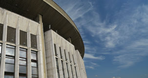 Olympic Stadium against the sky, Moscow, Russia. Stock Image
