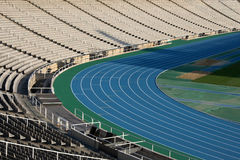 Olympic Stadium in Barcelona Stock Image