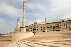Olympic stadium in Barcelona. Spain Stock Images
