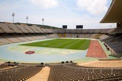 Olympic stadium in Barcelona. Abandoned olympic stadium in Barcelona, Spain Stock Photography