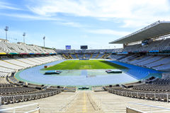 Olympic Stadium in Barcelona, Catalonia, Spain Royalty Free Stock Images