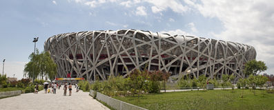 Olympic stadium of beijing Stock Photography